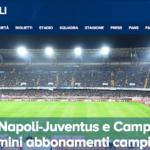 SSCナポリのチケット入手方法