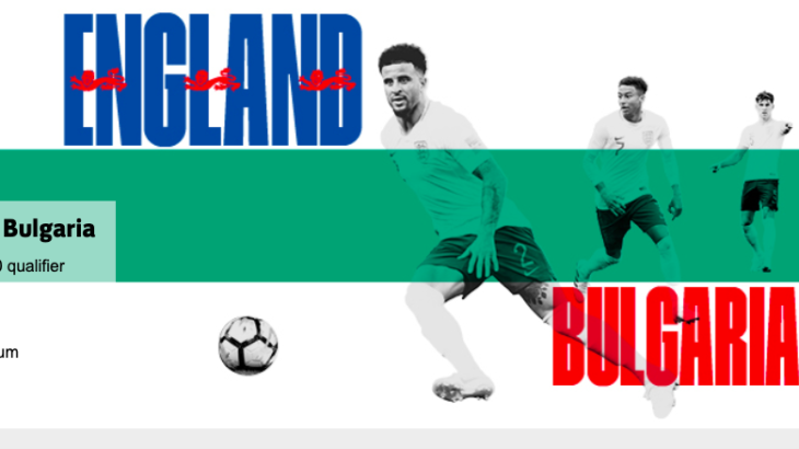 EURO2020予選も!イングランド代表チケット購入方法
