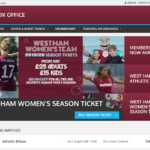 ウェストハムのチケット入手方法