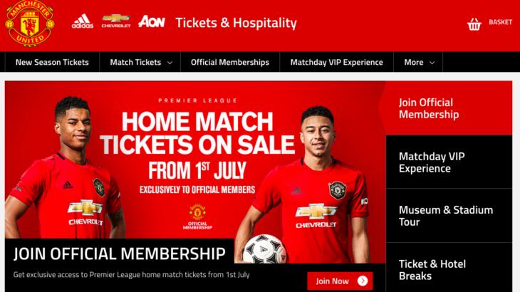 【観戦チケット】マンチェスターユナイテッドのチケットを最安値で購入する方法をご存知ですか?