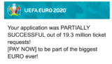 EURO2020のチケット抽選結果が発表。決勝のチケットを手に入れた作戦とは?