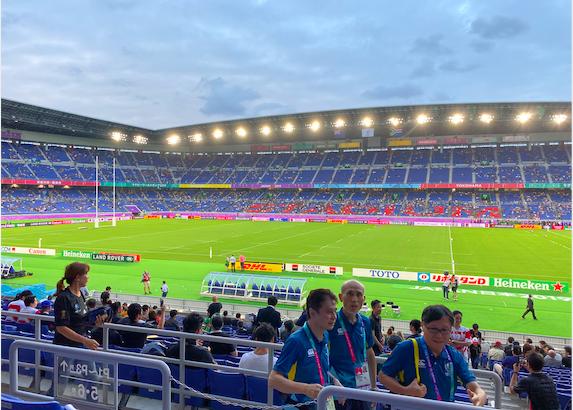 【観戦レポ】ラグビーW杯 オールブラックスのハカを横浜で観戦!チケット情報もあり